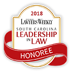 South Carolina Leadership in law Honoree Logo