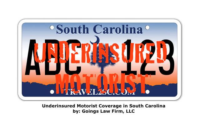 Underinsured Motorist Coverage License Plate