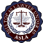 American Society of Legal Advocates Top 40 Under 40 - 2014